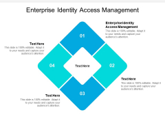Enterprise Identity Access Management Ppt PowerPoint Presentation Infographic Template Templates Cpb