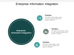 Enterprise Information Integration Ppt Powerpoint Presentation Gallery Templates Cpb