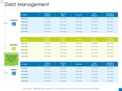 Enterprise Management Debt Management Template PDF