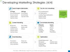 Enterprise Management Developing Marketing Strategies Follow Mockup PDF