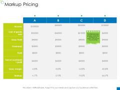 Enterprise Management Markup Pricing Download PDF