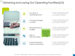 Enterprise Management Obtaining And Laying Out Operating Facilities Brochure PDF
