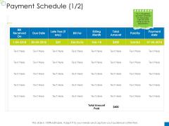 Enterprise Management Payment Schedule Portrait PDF