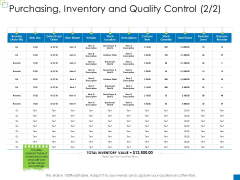 Enterprise Management Purchasing Inventory And Quality Control Item Clipart PDF