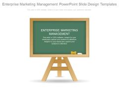 Enterprise Marketing Management Powerpoint Slide Design Templates