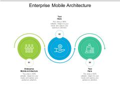 Enterprise Mobile Architecture Ppt PowerPoint Presentation Gallery Templates Cpb Pdf