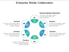 Enterprise Mobile Collaboration Ppt PowerPoint Presentation Professional Example Cpb