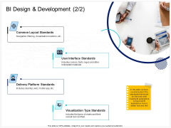 Enterprise Problem Solving And Intellect BI Design And Development Standards Ppt PowerPoint Presentation Summary Diagrams PDF