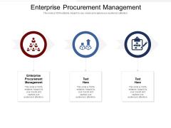 Enterprise Procurement Management Ppt PowerPoint Presentation Infographic Template Deck Cpb Pdf