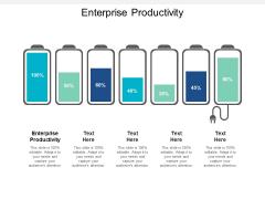 Enterprise Productivity Ppt PowerPoint Presentation Infographic Template Graphics Tutorials Cpb