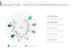 Enterprise Profile Area Of Focus Powerpoint Slide Graphics