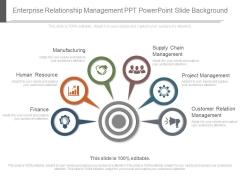 Enterprise Relationship Management Ppt Powerpoint Slide Background