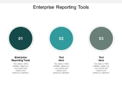Enterprise Reporting Tools Ppt Powerpoint Presentation Infographic Template Inspiration Cpb