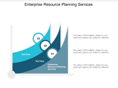 Enterprise Resource Planning Services Ppt PowerPoint Presentation Themes Cpb