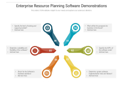Enterprise Resource Planning Software Demonstrations Ppt Pictures Designs Download PDF