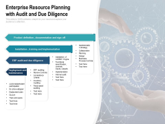 Enterprise Resource Planning With Audit And Due Diligence Ppt Powerpoint Presentation Summary Skills Pdf