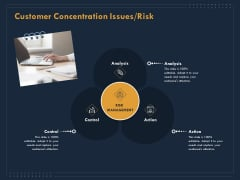 Enterprise Review Customer Concentration Issues Risk Ppt Layouts Sample PDF