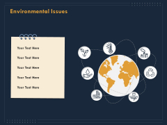 Enterprise Review Environmental Issues Ppt Show Example Topics PDF