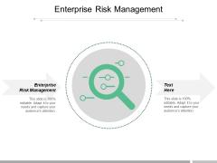 Enterprise Risk Management Ppt PowerPoint Presentation Summary Images Cpb