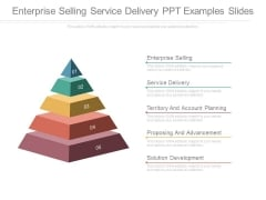 Enterprise Selling Service Delivery Ppt Examples Slides