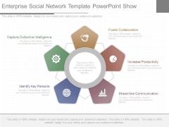 Enterprise Social Network Template Powerpoint Show