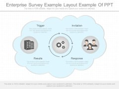 Enterprise Survey Example Layout Example Of Ppt