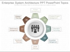Enterprise System Architecture Ppt Powerpoint Topics