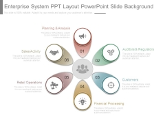 Enterprise System Ppt Layout Powerpoint Slide Background