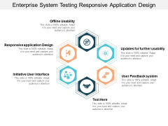 Enterprise System Testing Responsive Application Design Ppt PowerPoint Presentation Slides Portrait