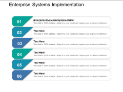 Enterprise Systems Implementation Ppt PowerPoint Presentation Inspiration Graphics Tutorials Cpb