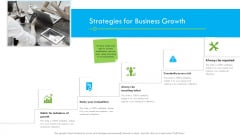 Enterprise Tactical Planning Strategies For Business Growth Ppt Summary Inspiration PDF