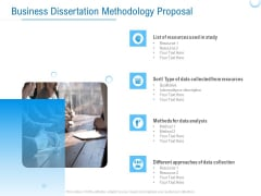Enterprise Thesis Business Dissertation Methodology Proposal Ppt Pictures Icon PDF