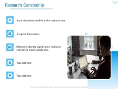 Enterprise Thesis Research Constraints Ppt Layouts Example PDF