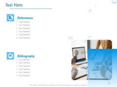 Enterprise Thesis Text Here Ppt Summary Infographics PDF
