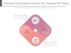 Enterprise To Enterprise Collection Plan Template Ppt Design