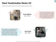 Enterprise Wellbeing Client Transformation Stories Demonstration PDF