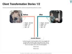Enterprise Wellbeing Client Transformation Stories Teamwork Themes PDF