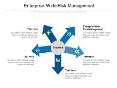 Enterprise Wide Risk Management Ppt PowerPoint Presentation Professional Show Cpb