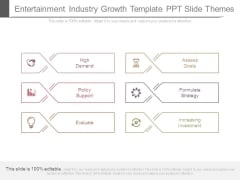 Entertainment Industry Growth Template Ppt Slide Themes