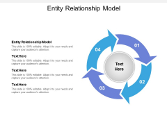 Entity Relationship Model Ppt PowerPoint Presentation Slides Gallery Cpb