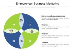 Entrepreneur Business Mentoring Ppt PowerPoint Presentation Portfolio Visual Aids Cpb