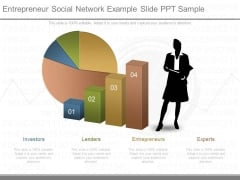 Entrepreneur Social Network Example Slide Ppt Sample