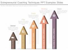 Entrepreneurial Coaching Techniques Ppt Examples Slides