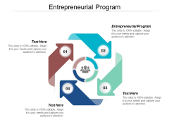 Entrepreneurial Program Ppt PowerPoint Presentation Themes Cpb