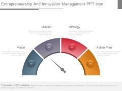 Entrepreneurship And Innovation Management Ppt Icon