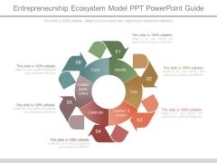 Entrepreneurship Ecosystem Model Ppt Powerpoint Guide