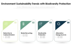 Environment Sustainability Trends With Biodiversity Protection Ppt PowerPoint Presentation Outline Graphics Template PDF