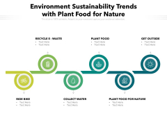Environment Sustainability Trends With Plant Food For Nature Ppt PowerPoint Presentation Slides Pictures PDF