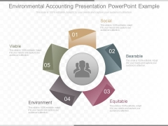 Environmental Accounting Presentation Powerpoint Example