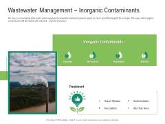 Environmental Friendly Technology Wastewater Management Inorganic Contaminants Guidelines PDF